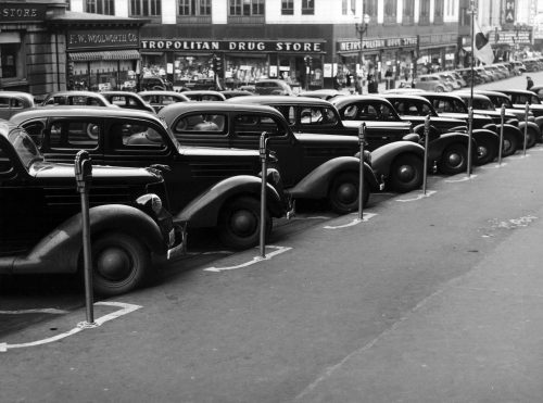 History of the parking. How the idea for the first parking is born?